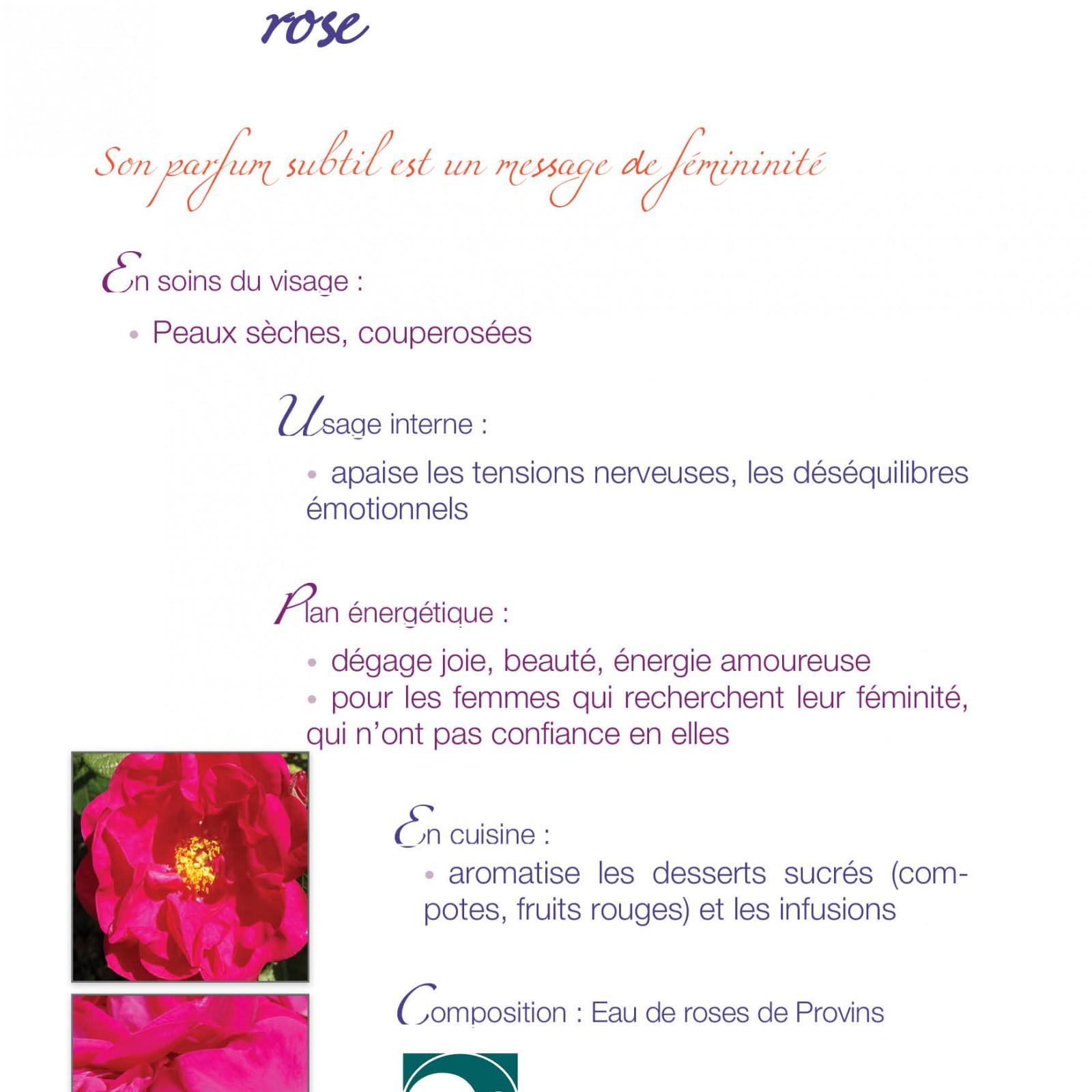 caméline eau de rose